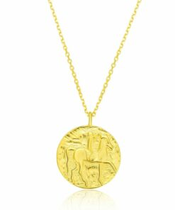 Collar Moneda Oro
