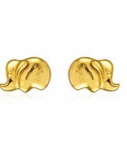 Pendientes Elefante Gold