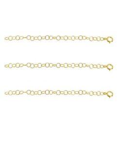 Alargador Collar Oro