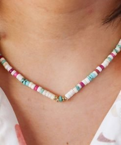 Collar Madera de Colores