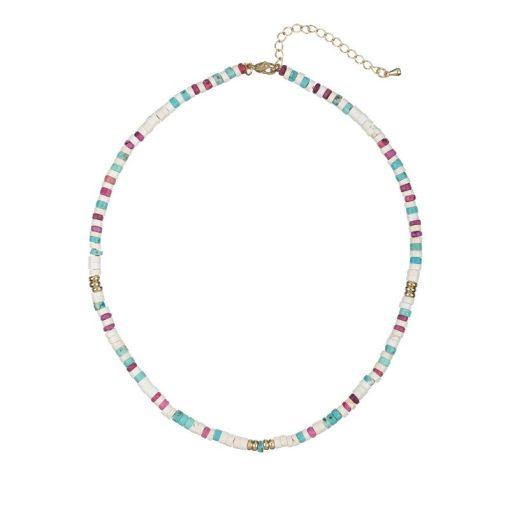 Collar Madera Multicolor